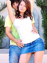 FTV Girls Pics: Gabby plays with her date