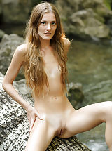 Small Breasts, Claudia | Girl In Nature