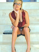 FTV Girls Pics: Kennedy the hot teen secretary