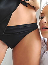 lace panties, StMackenzies on November10 Students Nicola Rocco and Sophia Smith